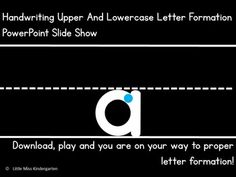 This download is for a premade PowerPoint Slide Show that is EDITABLE. You can use as is or rearrange the slides, delete slide or add to it. If you are focusing on particular letters during a specific time period you can customize it to your needs. Slides include Uppercase and lowercase A-Z.
