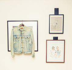 '90s Helmut Lang denim jacket.