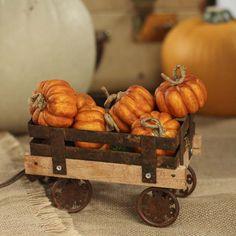 Miniature Artificial Pumpkins
