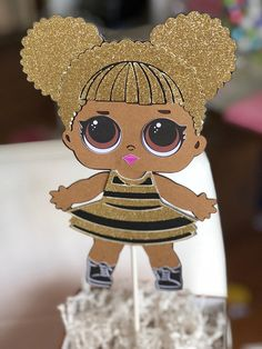Graham Cracker House, Doll Party, Lol Dolls, Gingerbread Cookies, Party Planning, Centerpieces, Teddy Bear, Toys, Paper