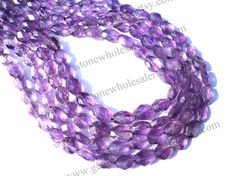 Amethyst African Faceted Oval Quality A /  by GemstoneWholesaler