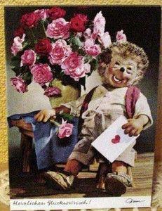 Postkarte Mecki 345