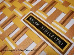 AZLINA ABDUL: Salam Aidilfitri pop up mosque card