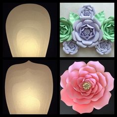 Just finished these beautiful templates for these fabustyle flowers for my client