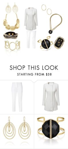 """""""Classic black and white look"""" by mertensmk on Polyvore featuring Dolce&Gabbana, Chloe + Isabel, women's clothing, women's fashion, women, female, woman, misses and juniors"""