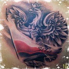 Polish Eagle Tattoo, Polish Tattoos, Chest Tattoo, I Tattoo, Pattern Art, Tattoos For Guys, Tatoos, Tatting, Poland