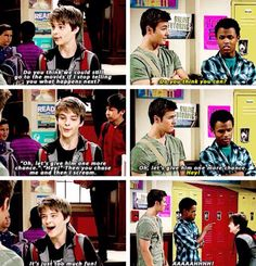 Farkle, Lucas, and Zay (Girl Meets World; Girl Meets the Forgiveness Project)