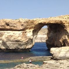 Glad I could still visit it without having to dive... really #welltravelled!  #azurewindow #gozo #malta #travelandlife #vacationgoals #summer#traveltheworld #passionpassport#wonderful_places #worldcaptures #tbt
