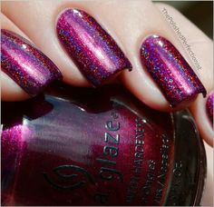 the polished perfectionist | Hits Atena over China Glaze Cowgirl Up - The Polished Perfectionist