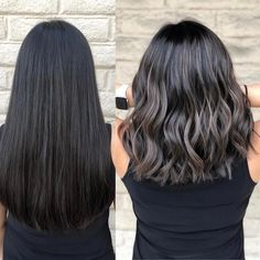 Long Wavy Ash-Brown Balayage - 20 Light Brown Hair Color Ideas for Your New Look - The Trending Hairstyle Brown Hair With Blonde Highlights, Brown Hair Balayage, Hair Highlights, Ashy Hair, Black Hair To Balayage, Ashy Brown Hair, Coffee Brown Hair, Black Hair Ombre, Light Brown Hair