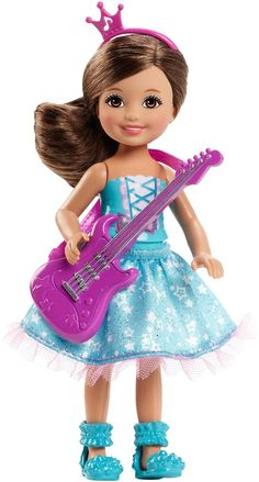 Mattel Barbie Small Doll - Rock 'N Royals Rock Princess - Brown Hair (CKB70)  Manufacturer: Mattel Barcode: 887961109863 Enarxis Code: 018084 #toys #Mattel #Barbie #doll #rock #princess