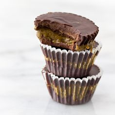 Protein Almond Butter Cups. For  Trav.