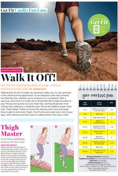 Easy Walking Weight Loss Plan That's also a Thigh Workout - Shape Magazine