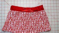 Christmas Skirt by DandyDudsbyRita on Etsy