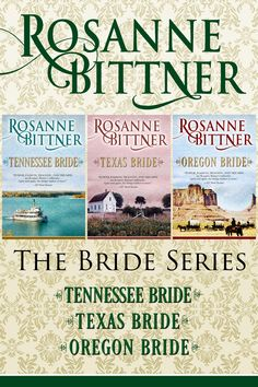 The West is wild, but it's the people that are untamed in Roseanne Bittner's smoldering Bride series.  http://diversionbooks.com/ebooks/bride-series-omnibus-edition