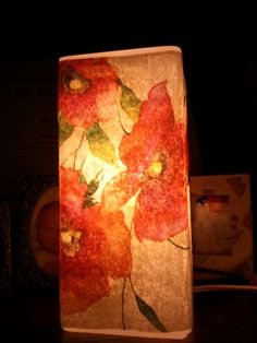 My modge podge Ikea lamps!