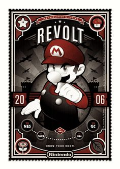 Mario! See 99 more mario characters @ http://www.buzzfeed.com/theangryluddite/super-mario-bros-re-imagined-in-100-images-5dn9