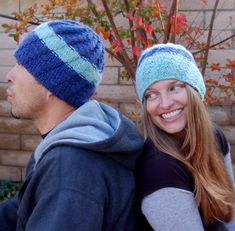 His and Her Knitted Hats