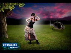 Photoshop tutorial backlight - Manipulation