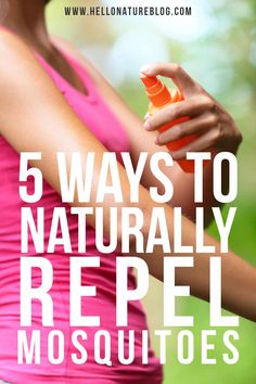 Mosquitoes can ruin the perfect summer day, but they don't have to. These five natural ways to repel mosquitoes can help prevent you from being bitten or avoid mosquitoes entirely. Prevent Mosquito Bites, Keeping Mosquitos Away, Hiking Essentials, Hiking With Kids, Natural Parenting, Hiking Tips, Insect Repellent, Natural Living, Blog Tips