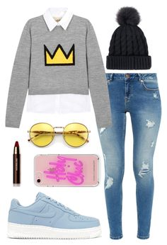 """""""Celeste"""" by andreadavalos on Polyvore featuring moda, NIKE, Ted Baker, Alice + Olivia, Wildfox, Rebecca Minkoff y Hourglass Cosmetics"""
