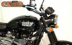 2011 TRIUMPH SCRAMBLER in Black  At Auckland Motorcycles & Power Sports,   New Zealand www.amps.co.nz