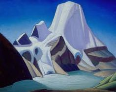 Lawren Harris Mount Robson from the North East , c. 1928 Group of Seven Emily Carr, Group Of Seven Artists, Group Of Seven Paintings, Canadian Painters, Canadian Artists, Abstract Landscape, Landscape Paintings, Tom Thomson Paintings, Ontario