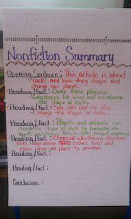 summarizing for nonfiction