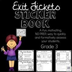 These exit tickets will delight your students and will help you quickly and effectively assess if your students have understood the current concept being taught/ worked on. These will make your evaluation quick and easy in your classroom.
