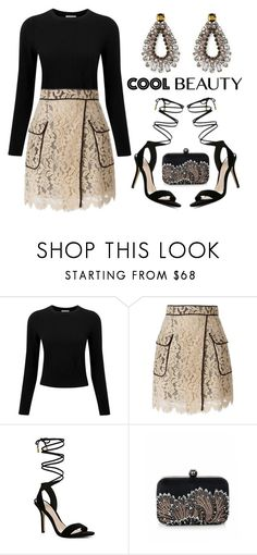 """""""A Cool Beauty"""" by latoyacl ❤ liked on Polyvore featuring Pure Collection, MSGM, ALDO and Sorrelli"""