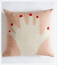 I'm freakin' on the number of fingers on the fancy finger pillow! @Brooke Graham.  Ha ha!