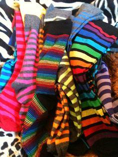 Buy cool socks whenever the eff I feel like it.