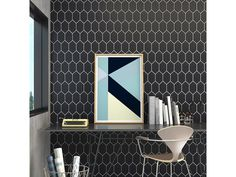 Chez Moi Noir Matt 10x18 Floor and Wall Tiles | TileSpace - Tiles.co.nz
