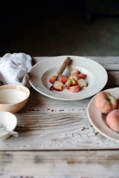 lovely cut up saturn peaches & very nicely composed image