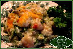 Sweet Tea and Cornbread: Shrimp & Asparagus Casserole!