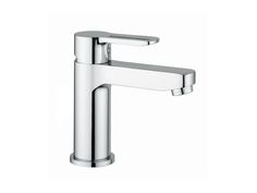 Nobili New Road Eco Basin Mixer - The Eco Basin Mixer from Nobili incorporates a function where hot water is only consumed when the lever is turned to the left.  This feature helps reduce the running costs of the mixer.