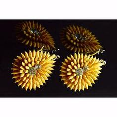 Earrings made of seeds & rice kernels. Eco friendly jewelleries- Closer to Nature Closer to You!