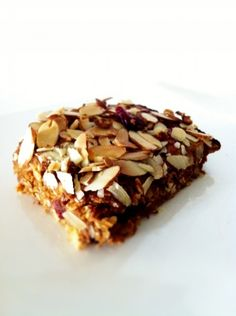 Pumpkin Cranberry Almond Protein Bar, plus other protein bar recipes