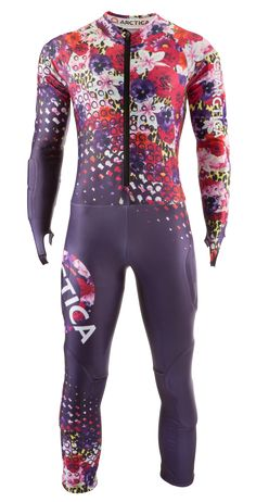 Arctica Cheetah Flower GS Speed Suit. FIS approved $300 adult/$250 youth.