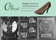 Cybrtrayd BUNM072AM072BM072C 3Piece Carousel Chocolate Molds *** Details can be found by clicking on the image.