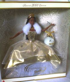 2000 AA SPECIAL CELEBRATION AFRICAN AMERICAN BARBIE DOLL NEW | eBay