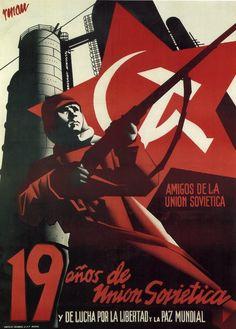 Spain - 1936-39. - GC - poster - autor: Renau
