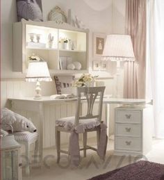 #kidsroom #furniture #kids #children #design #style #interior #girls письменный стол Granducato Orleans, O.t134