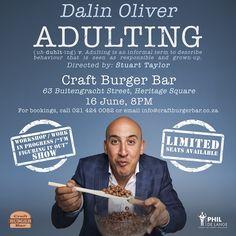 Craft Burger, Live Comedy, Burger Bar, Growing Up, No Response, Crafts, Manualidades, Handmade Crafts, Craft