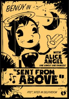 Resultado de imagen para alice angel bendy and the ink machine