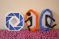 Portal perler beads by princessk