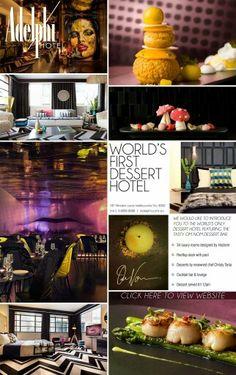 Adelphi Hotel's Om Nom restaurant, Melbourne Australia