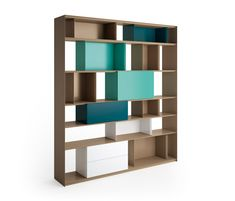 Stack Shelfsystem by Müller Möbelfabrikation | Office shelving systems