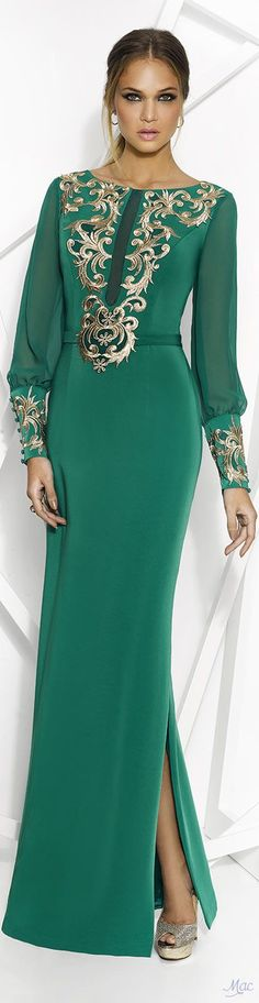 @roressclothes clothing ideas #women fashion green maxi dress gown