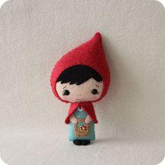 Little Red Riding Hood pdf Pattern - téléchargement immédiat